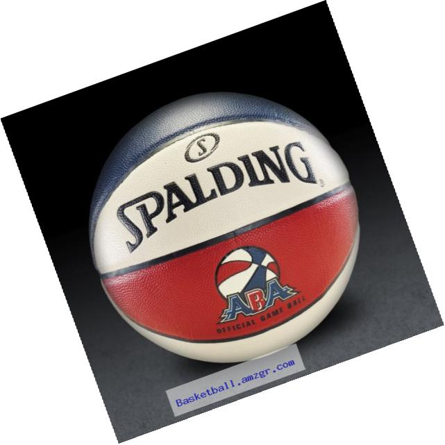Spalding ABA Official Game Basketball - Official Size 7 (29.5