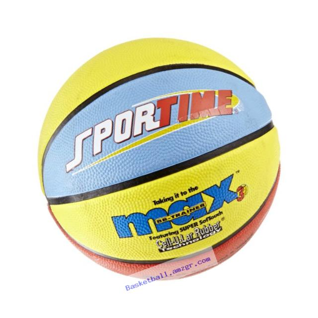 SportimeMax Elementray RoundBall BB-Trainer Basketball - 8 1/2 Inches